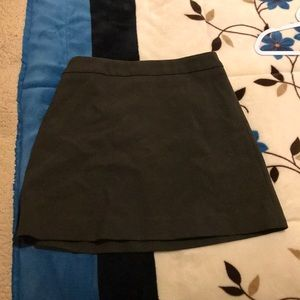 Olive Green Skirt.  Price is negotiable